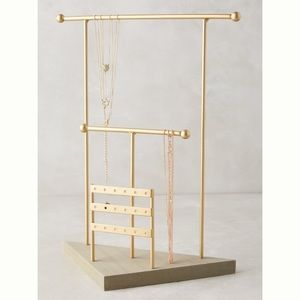 Anthropologie Highbar jewelry display